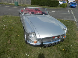 1970 MG B Roadster               Estimate (£): 7,000 - 9,000 For Sale by Auction