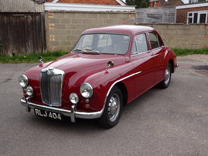 1955 MG Magnette ZA         Estimate (£): 8,000 - 10,000 For Sale by Auction
