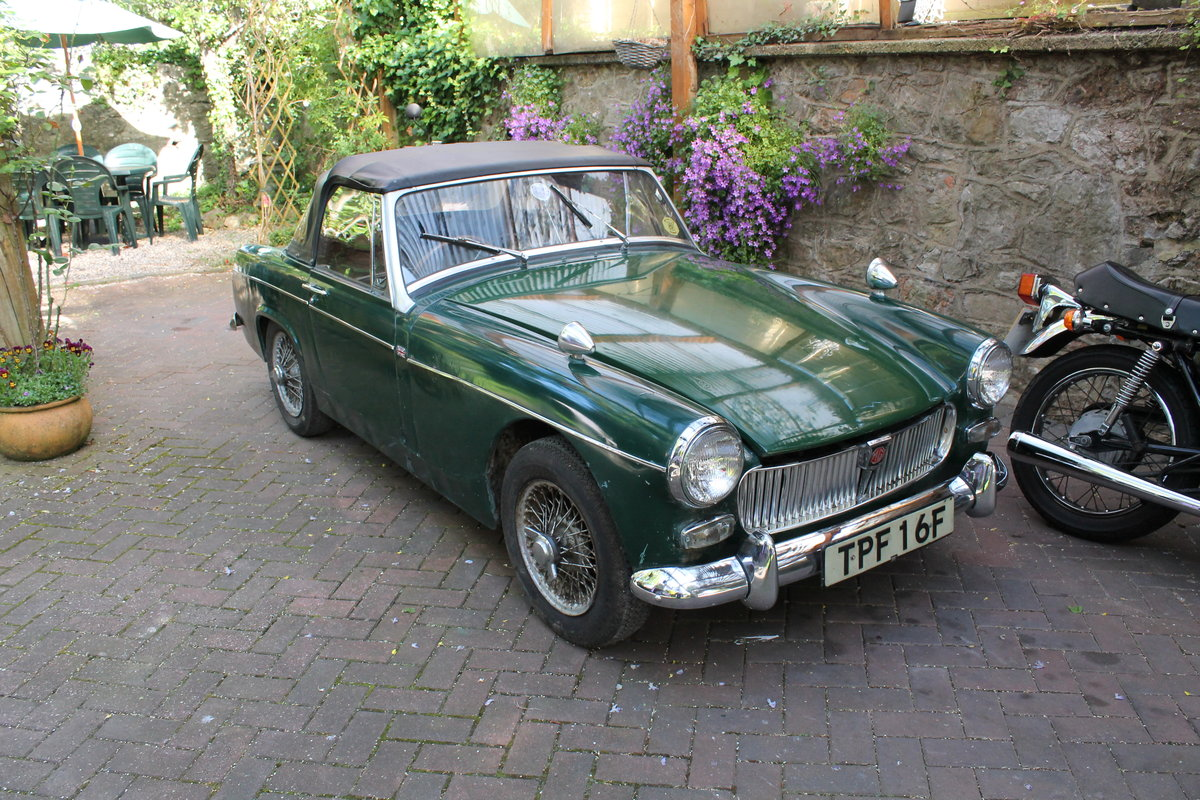 1968 mg midget , wire wheels , for restoration For Sale (picture 2 of 6)