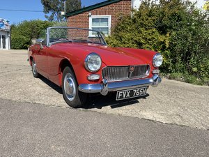 1969 MG Midget 1275 Chrome Bumper DEPOSIT TAKEN SOLD