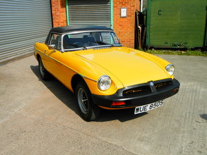 1978 MG B ROADSTER (HARD TOP) For Sale by Auction