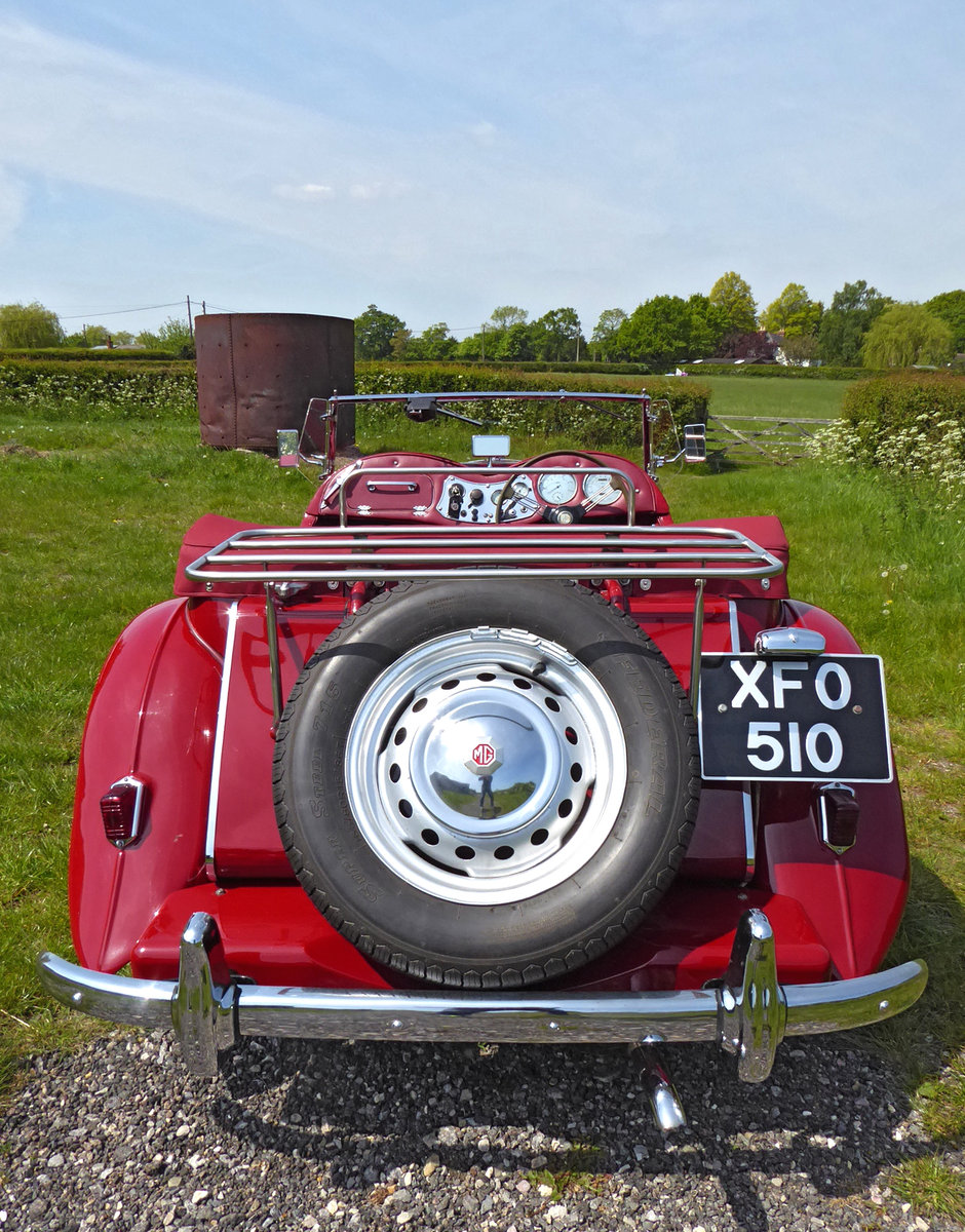 1950 Stunning MG TD. Engine just rebuilt. Many extras. For Sale (picture 4 of 6)