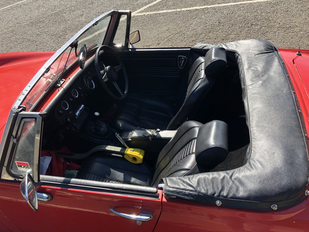 MG Midget RWA (1275cc) for sale (1974) For Sale (picture 5 of 6)