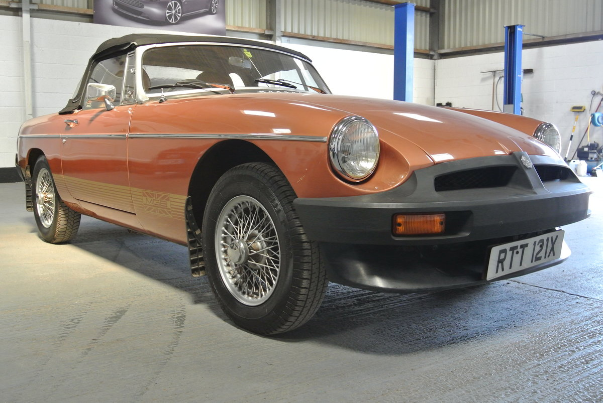 1981 SUPER ORIGINAL MGB LE 70K 1 OWNER FROM NEW! For Sale (picture 1 of 6)