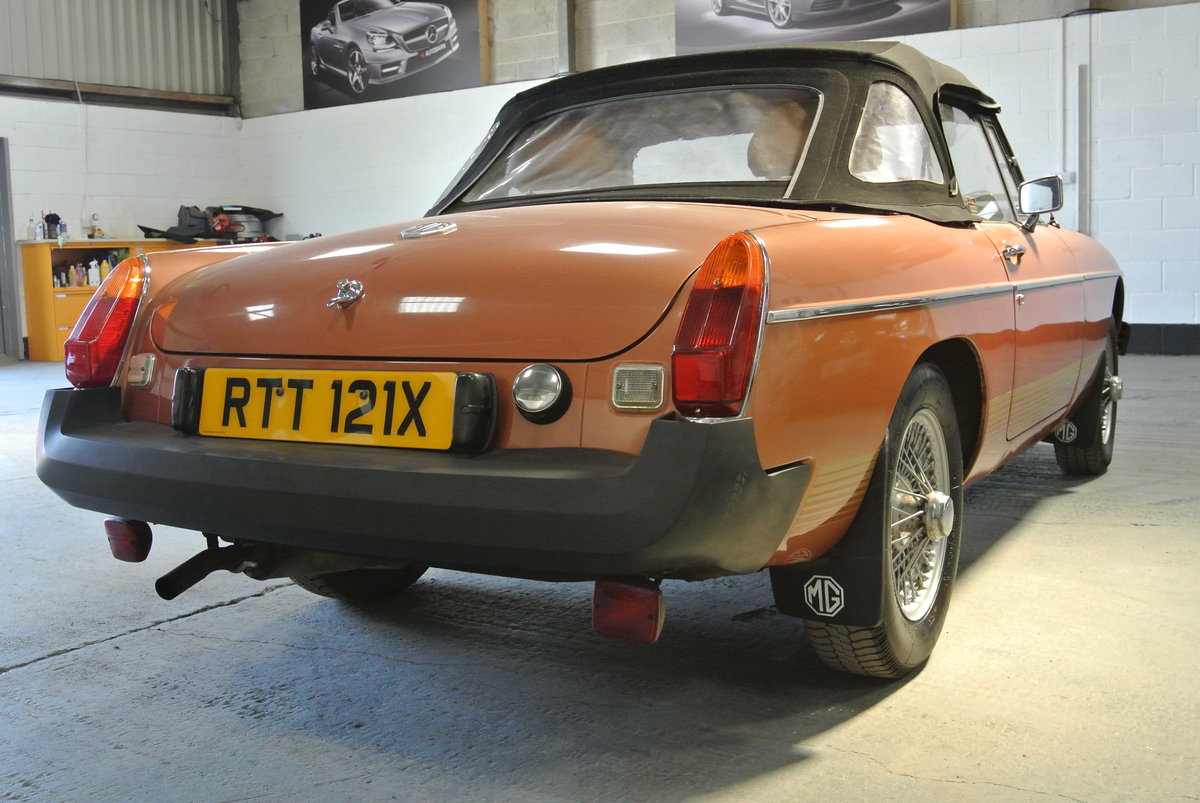 1981 SUPER ORIGINAL MGB LE 70K 1 OWNER FROM NEW! For Sale (picture 3 of 6)