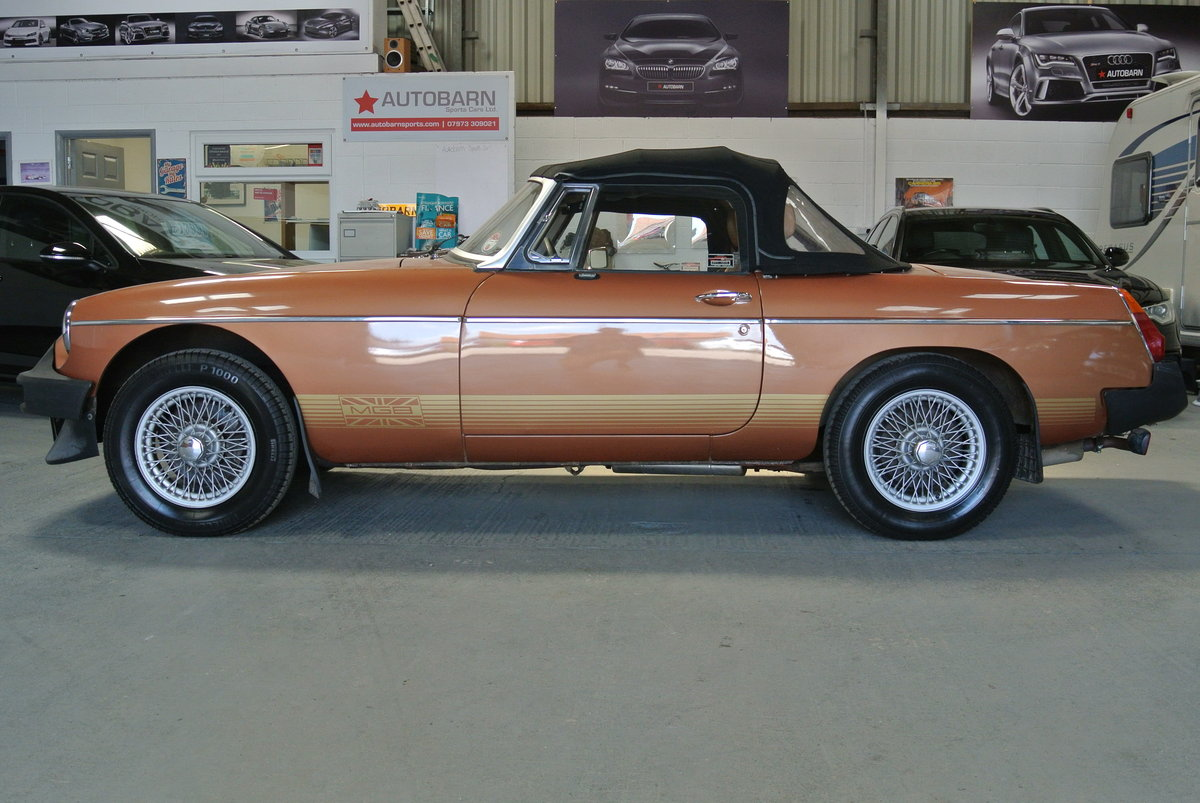 1981 SUPER ORIGINAL MGB LE 70K 1 OWNER FROM NEW! For Sale (picture 4 of 6)