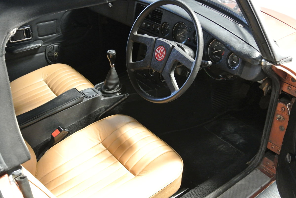 1981 SUPER ORIGINAL MGB LE 70K 1 OWNER FROM NEW! For Sale (picture 6 of 6)