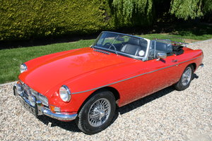 1971 MGB ROADSTER. Heritage Shell Restoration. Superb Example  For Sale