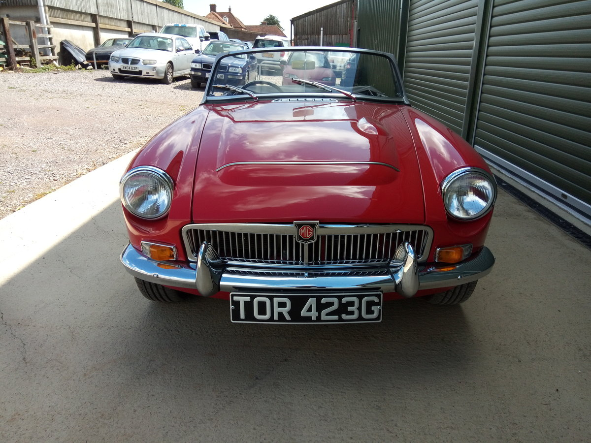 1969 MGC Roadster SOLD (picture 4 of 6)