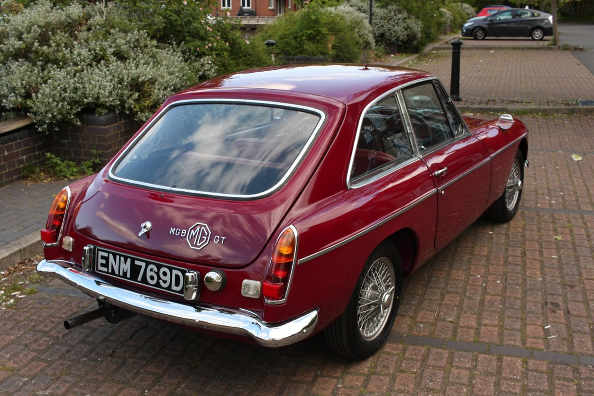 1966 MGB GT Mk1 - Maroon, wire wheels - Running Restoration SOLD (picture 6 of 6)