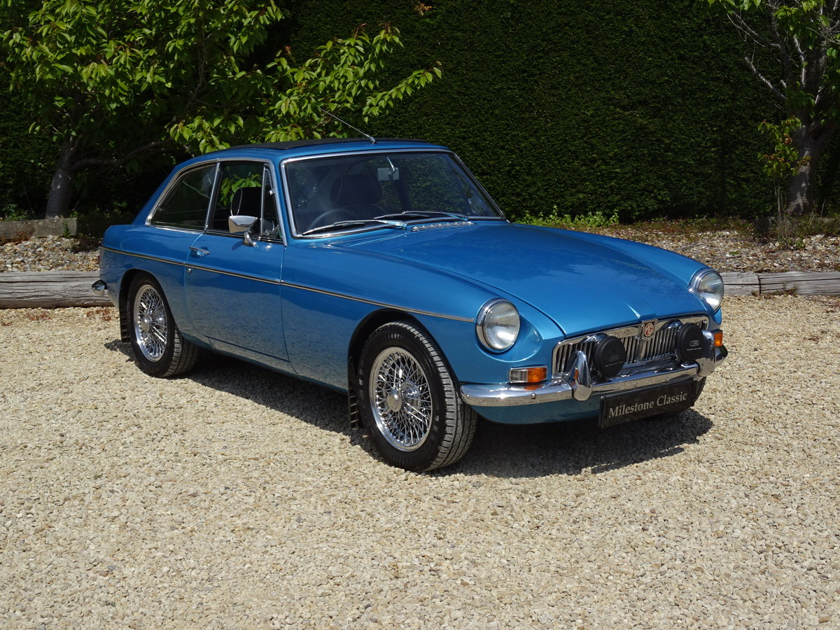 MGB GT Mk1 – Stunning Restoration/Fast Road Specification   SOLD (picture 2 of 6)