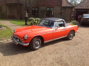 1982 MGB Roadster For Sale by Auction