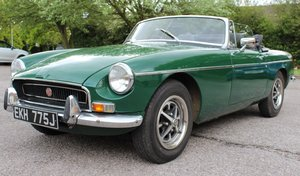 To be sold Wednesday 22nd May 2019- 1971 MGB Roadster For Sale by Auction