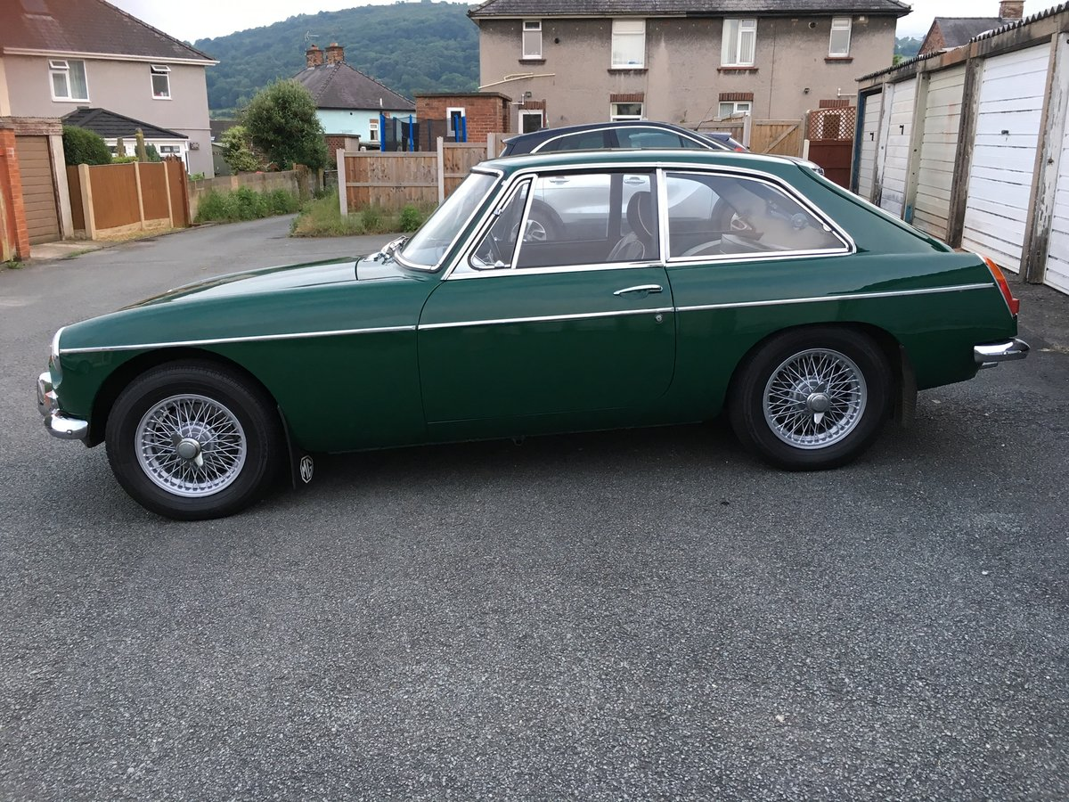 1967 67 MGB GT, BRG, wires leather, fantastic car SOLD (picture 6 of 6)