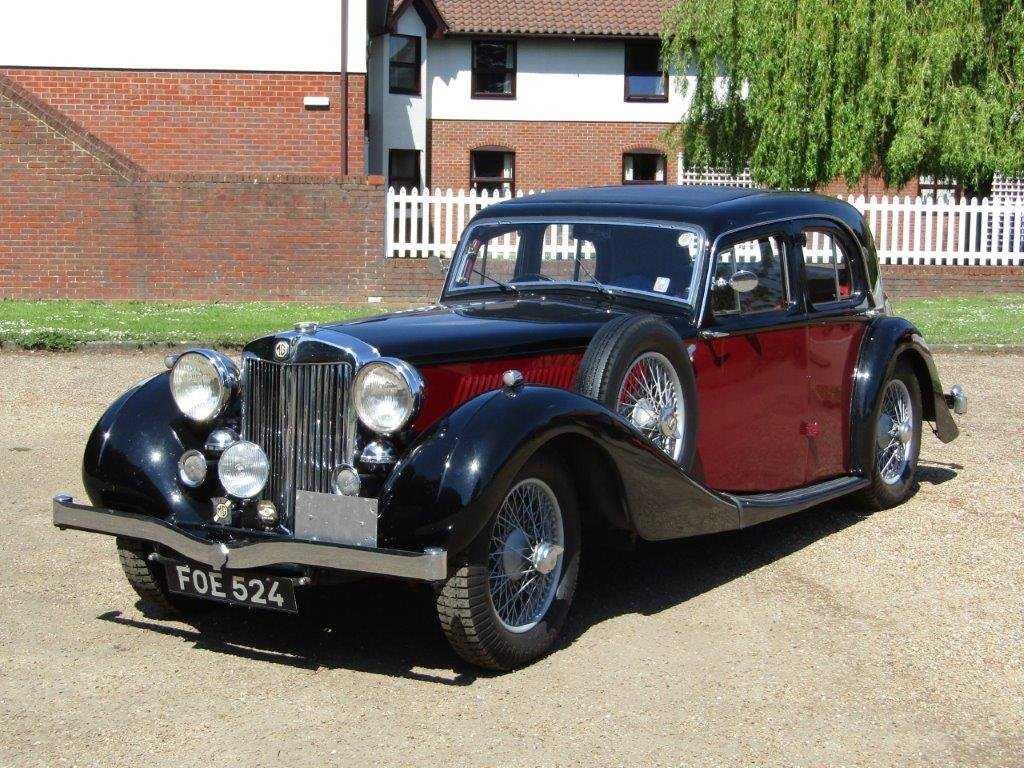 1939 MG WA Saloon at ACA 15th June  For Sale (picture 2 of 6)
