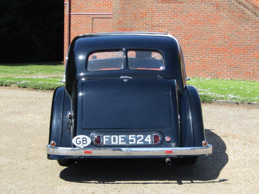 1939 MG WA Saloon at ACA 15th June  For Sale (picture 6 of 6)
