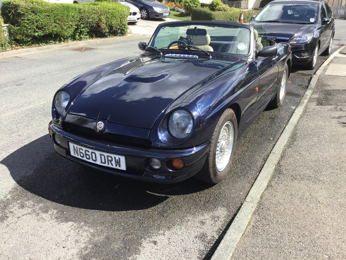 1996 RARE UK RV8 in Oxford Blue For Sale (picture 4 of 6)
