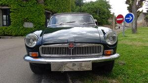 MG B Left hand drive british racing green For Sale