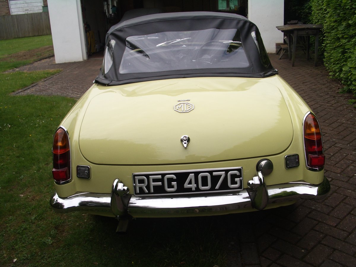 MGC Roadster 1969 Auto For Sale (picture 3 of 6)