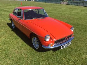 1978 MG B GT at Morris Leslie Auction 25th May For Sale by Auction
