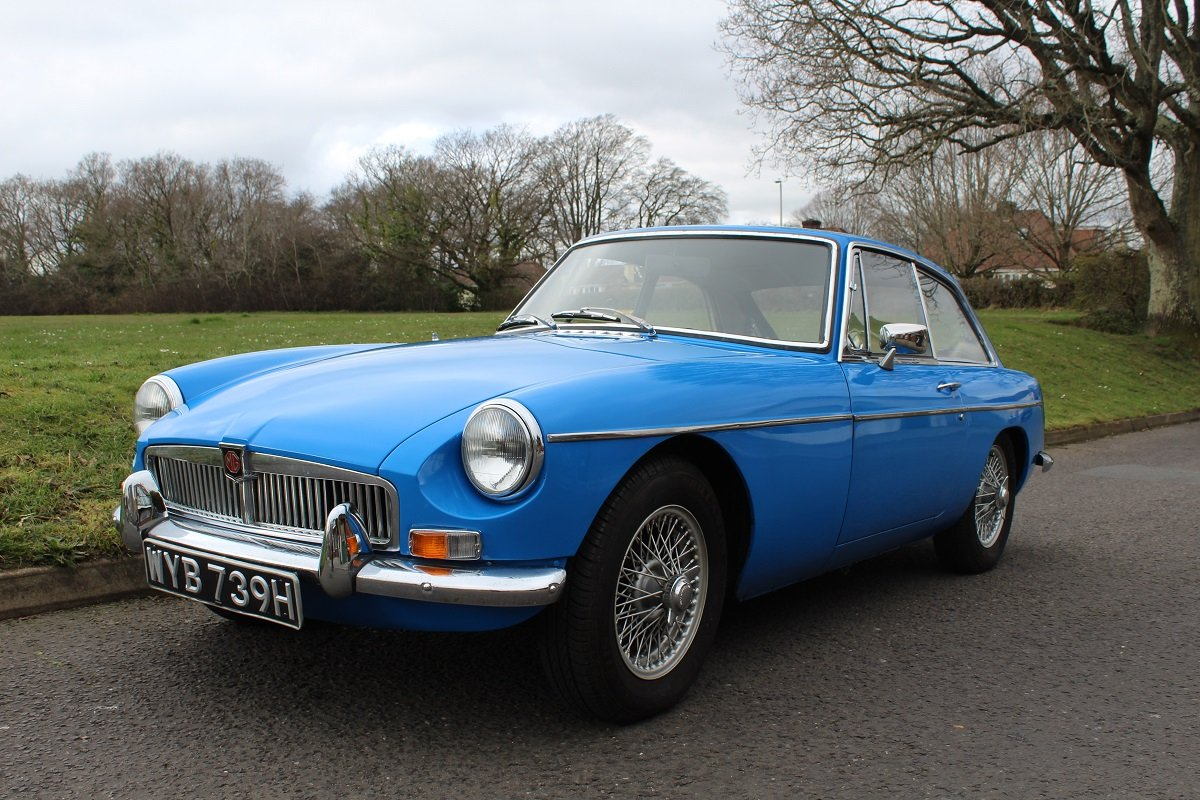 MG B GT 1969 - to be auctioned 26-07-19 For Sale by Auction (picture 1 of 6)