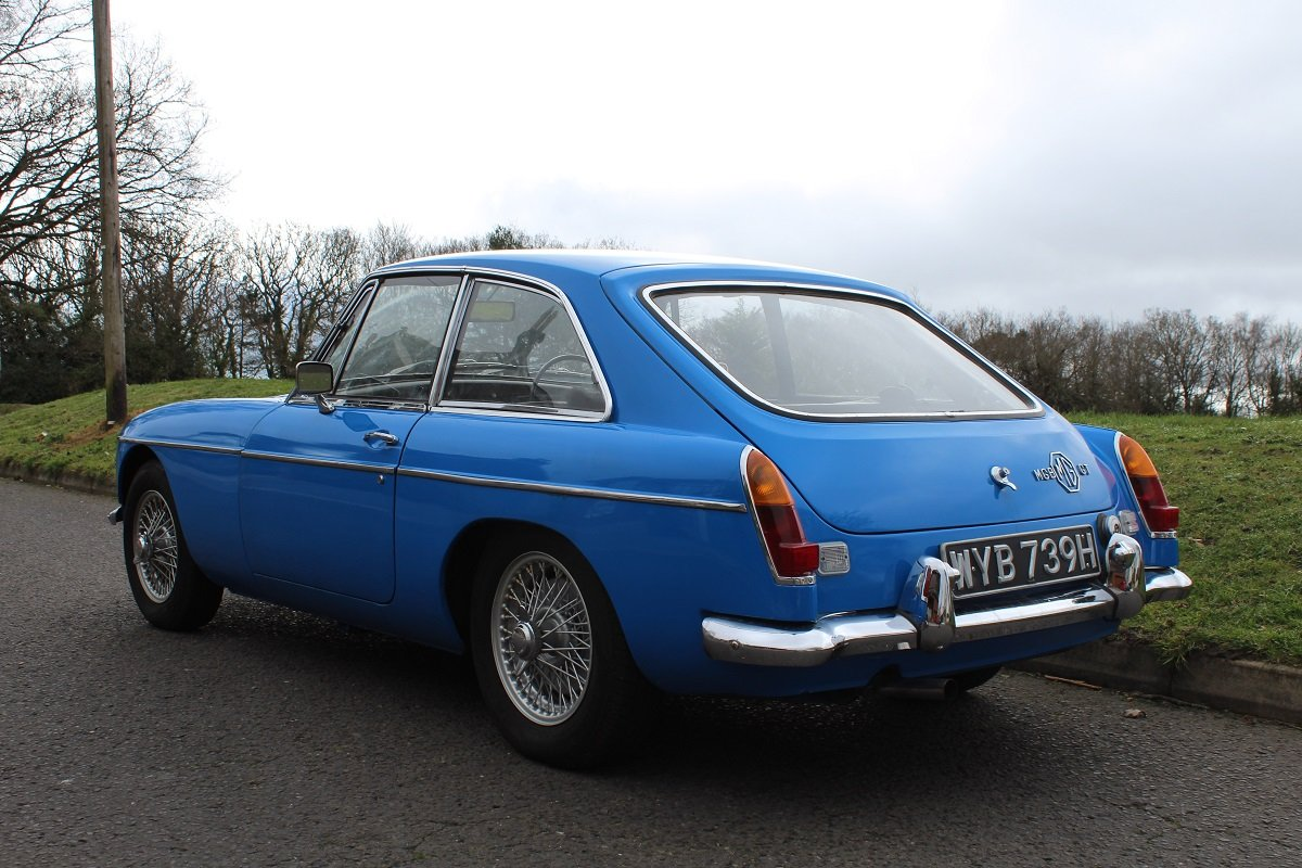 MG B GT 1969 - to be auctioned 26-07-19 For Sale by Auction (picture 2 of 6)