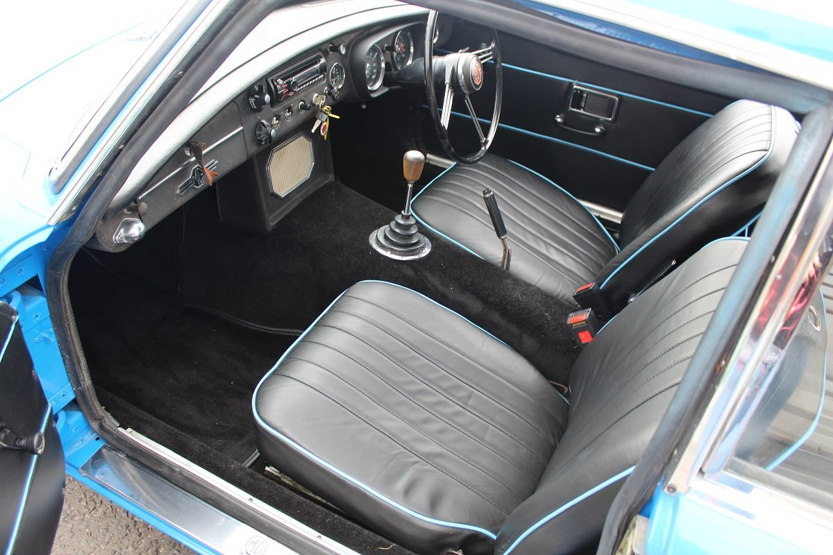 MG B GT 1969 - to be auctioned 26-07-19 For Sale by Auction (picture 3 of 6)