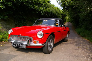 1967 Heritage Shell MGB Roadster For Sale