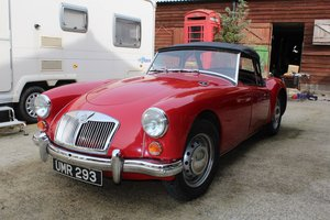 MGA 1600 Roadster 1959 - To be auctioned 26-07-2019 For Sale by Auction
