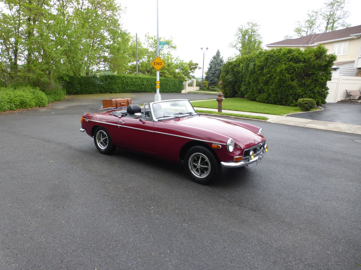 1974 MGB With Overdriver Very Nice Driver For Sale (picture 1 of 6)