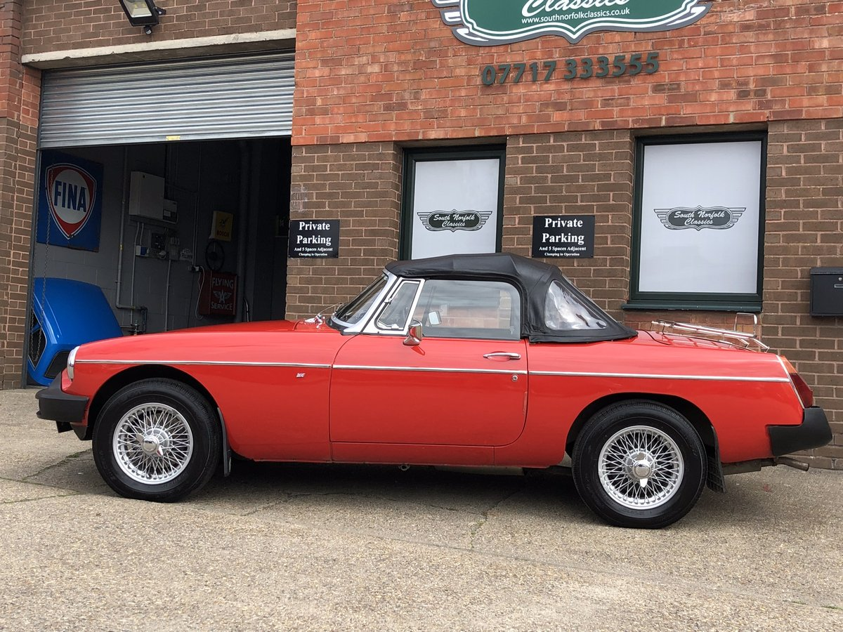 1978 mgb roadster, power steering wires and overdrive for sale car