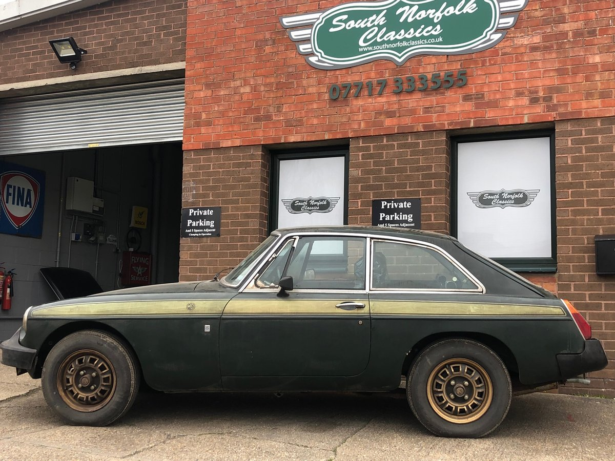 1975 Unregistered MGB GT Jubilee, 112 miles SOLD (picture 1 of 6)