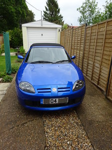MG TF 135 1.8  Blue 2004 Good Condition