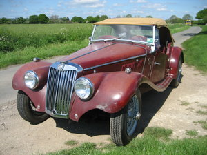 1954 MG TF 1250  For Sale