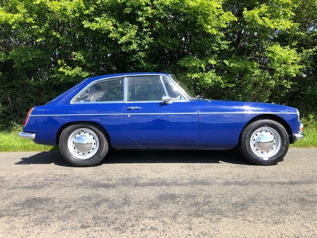 1969 mgbgt mk2 only 67000 miles with overdrive For Sale (picture 2 of 6)