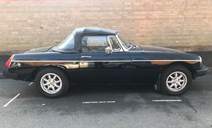 1978 MGB 1 owner for last 31 years,MOT  20 April 2020