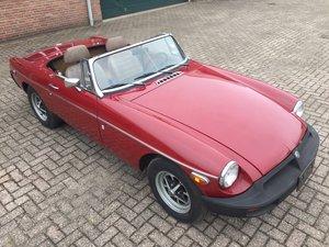 1977 MGB roadster | LHD | original paint SOLD