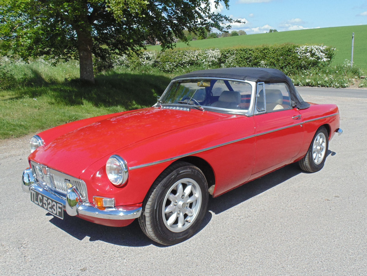 1968 MGB Roadster SOLD (picture 1 of 6)
