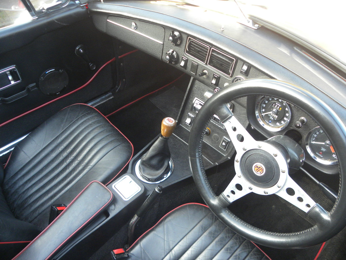 1972 MGB ROADSTER.O/D. CHROME WIRE WHEELS.Restored For Sale (picture 4 of 6)