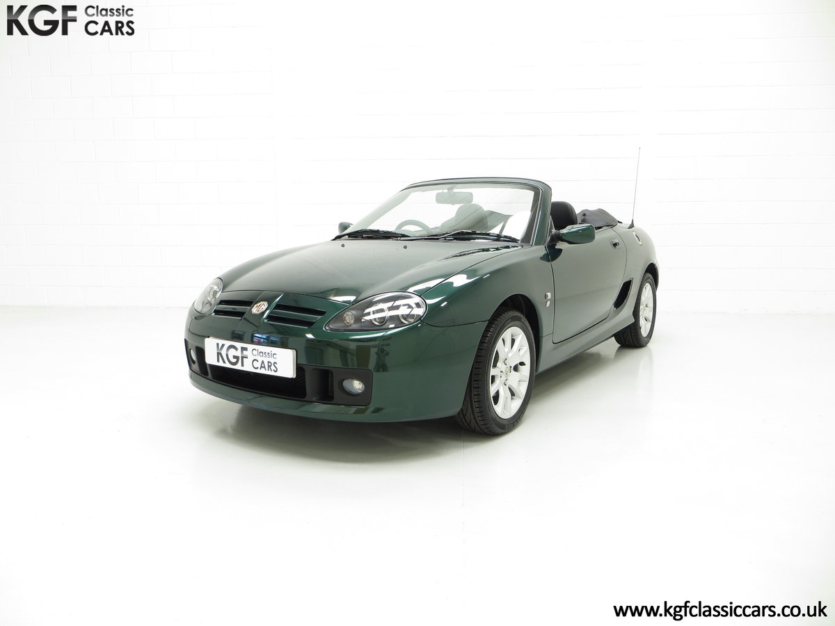 2006 An Astonishing Very Late MG TF 135 with 7,127 Miles SOLD (picture 2 of 6)