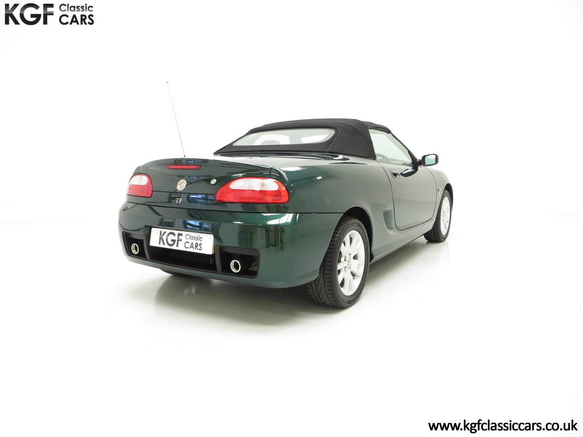 2006 An Astonishing Very Late MG TF 135 with 7,127 Miles SOLD (picture 5 of 6)