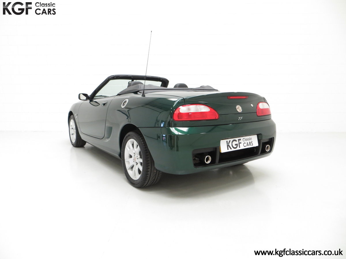 2006 An Astonishing Very Late MG TF 135 with 7,127 Miles SOLD (picture 4 of 6)