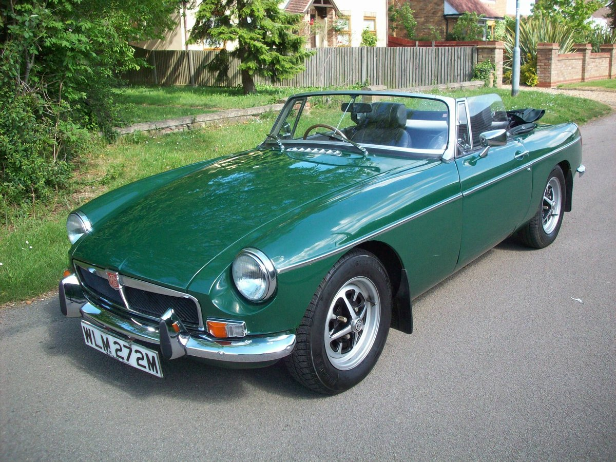 1974 MGB Roadster SOLD (picture 1 of 6)
