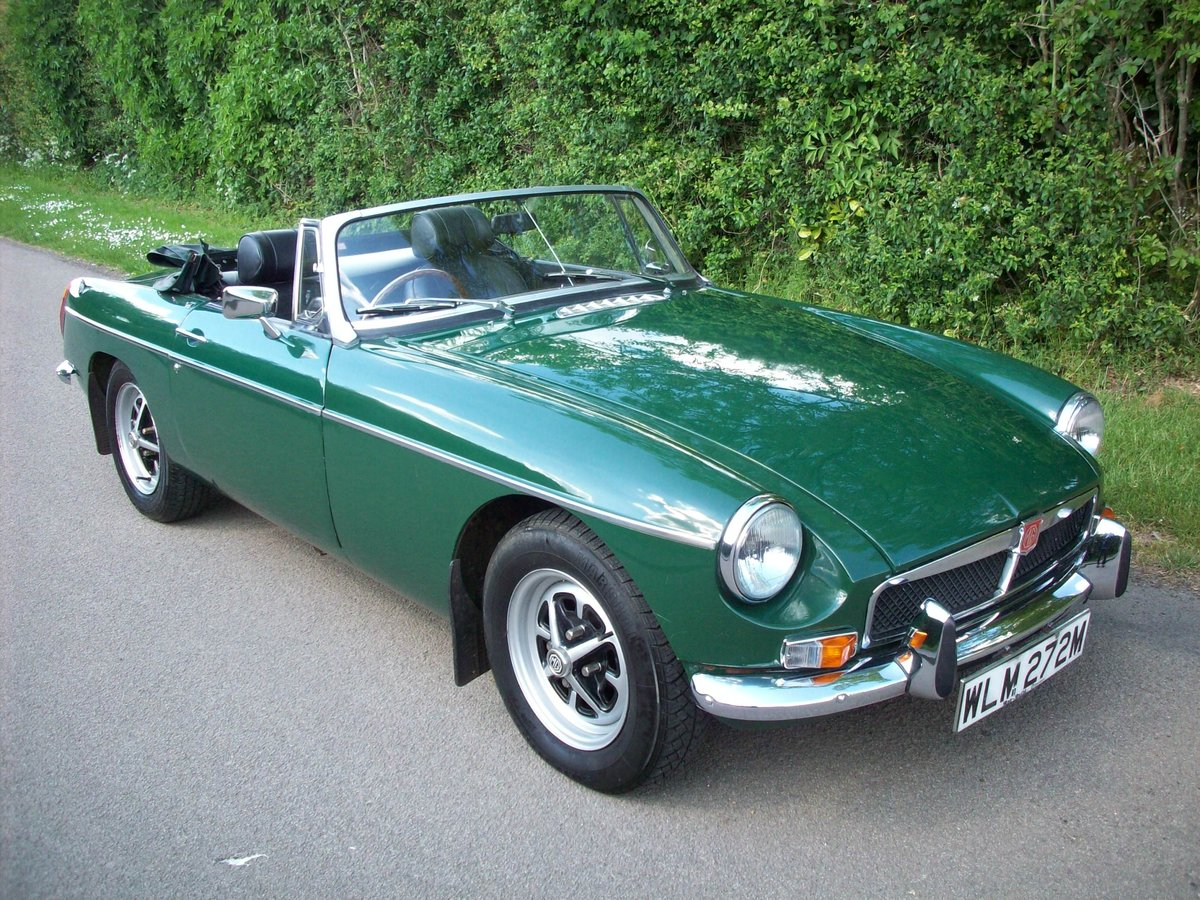 1974 MGB Roadster SOLD (picture 2 of 6)