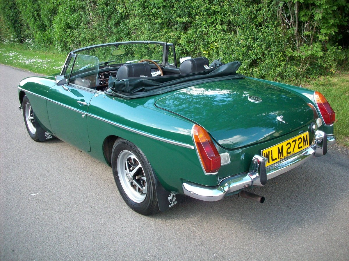 1974 MGB Roadster SOLD (picture 3 of 6)