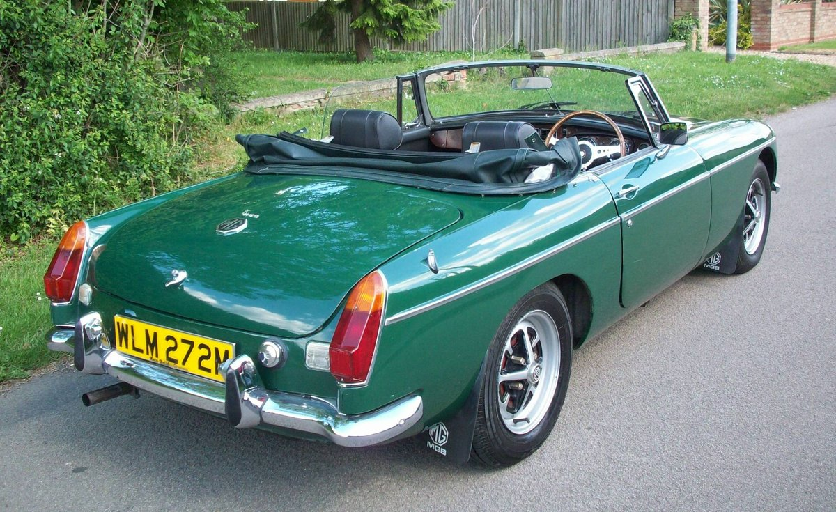 1974 MGB Roadster SOLD (picture 4 of 6)