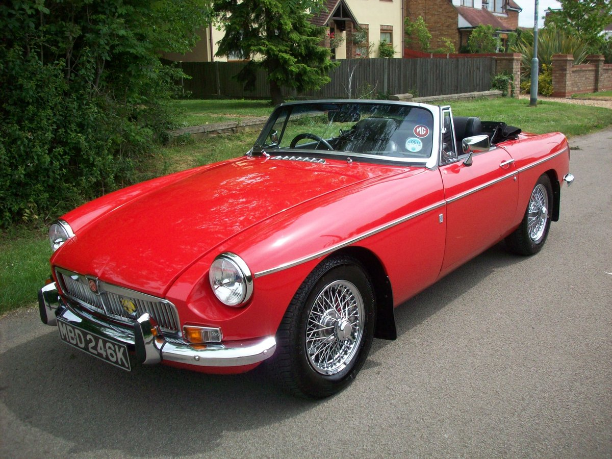 1972 MGB Roadster For Sale (picture 1 of 6)