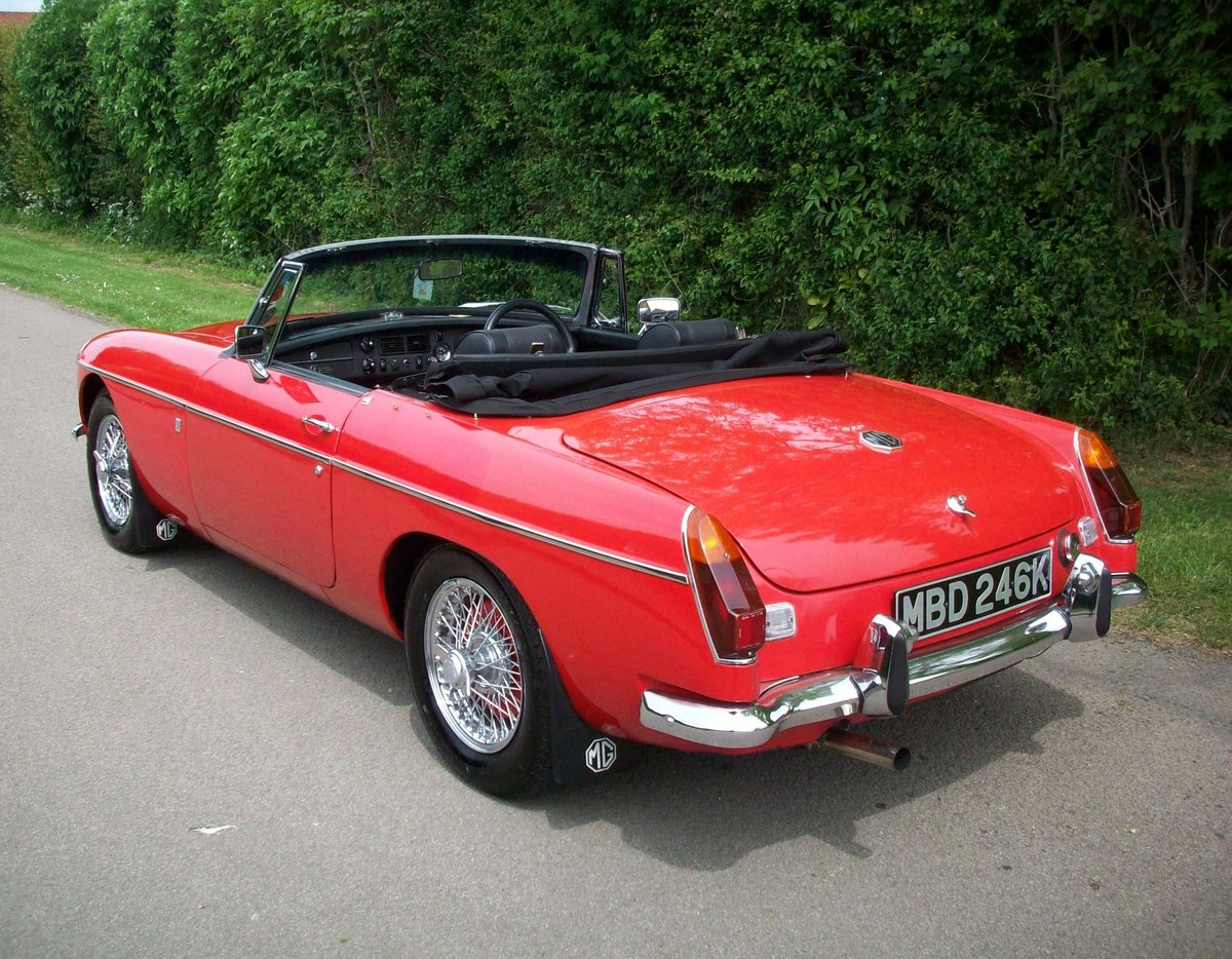 1972 MGB Roadster For Sale (picture 3 of 6)