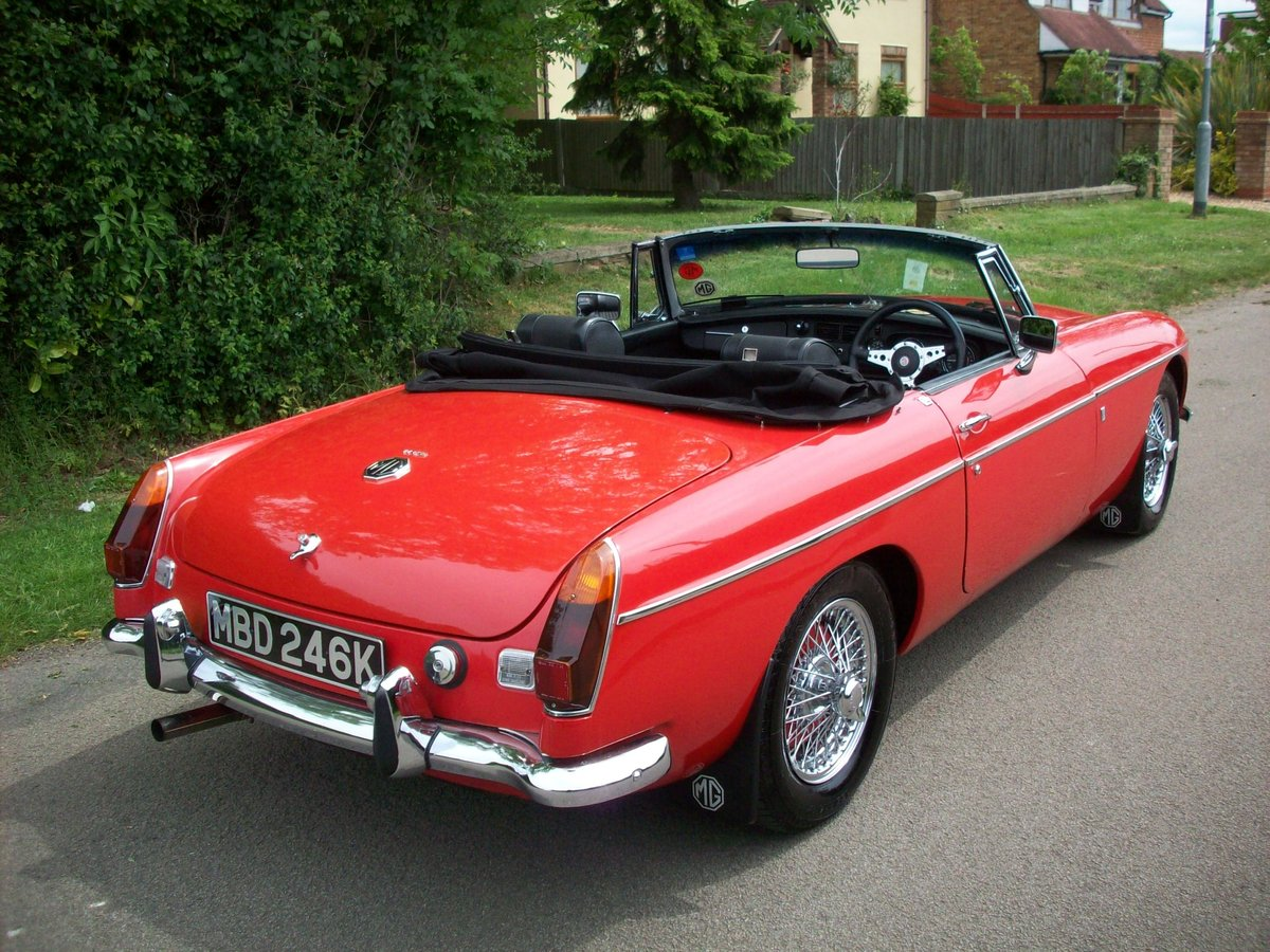 1972 MGB Roadster SOLD (picture 4 of 6)