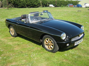 1979 MGB 'ORCHARD SPECIAL' ROADSTER. BLACK 1868cc + HI LIFT  SOLD